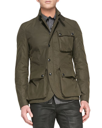 Boxworth 3-Pocket Jacket, Military Green