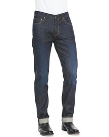 Slim Straight Raw Selvedge Jeans