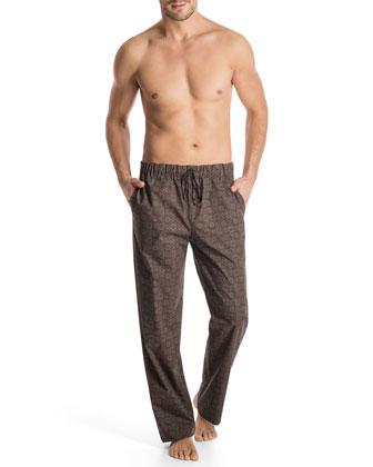Bryant Park Floral-Print Lounge Pants