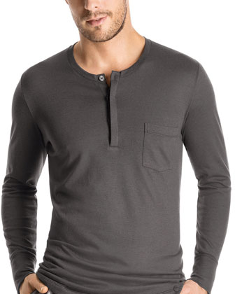 Pocket Henley Shirt