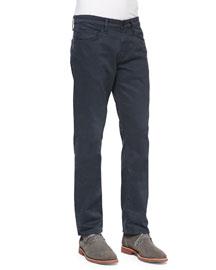 Kane Straight-Leg Harbour Blue Jeans