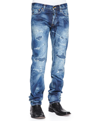 Rambler Destroyed Denim jeans