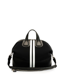 Men's Nightingale Neoprene Satchel Bag, Black