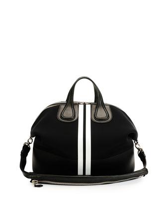 Men's Nightingale Neoprene Satchel Bag, Black