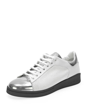 Elgar Painted-Toe Sneaker