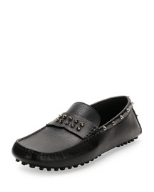 Studded Leather Driver