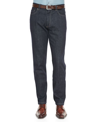 Five-Pocket Jeans, Indigo