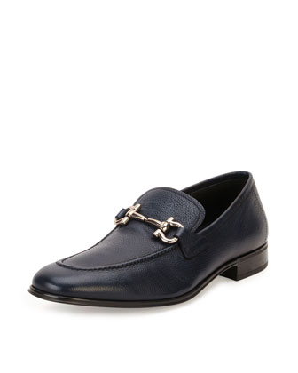 Rigel Gancini Loafer, Navy