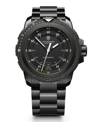 Alpnach Mechanical Watch, Black