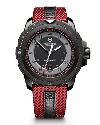 Alpnach Mechanical Watch, Red