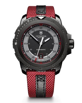 Alpnach Mechanical Watch, Red