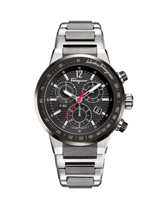 F-80 Chronograph Watch with Bracelet