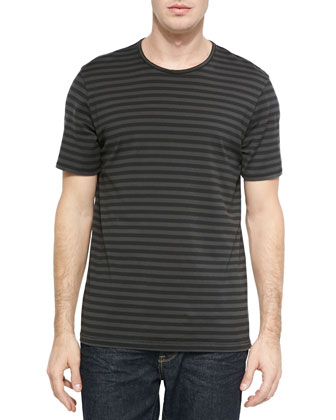 Striped Flame Jersey T-Shirt