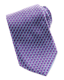 House Micro-Neat Tie, Purple