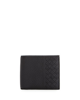 Chervo Bi-Fold Wallet, Navy Blue