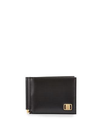 Vara Money-Clip Wallet, Black