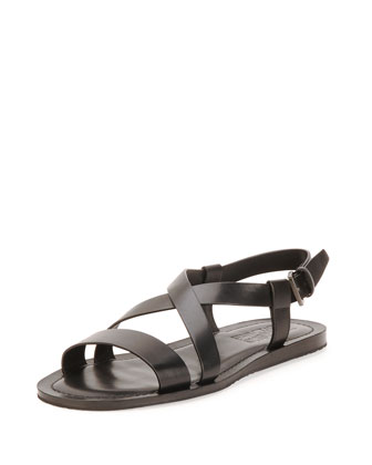 Nostro Calfskin Sandal
