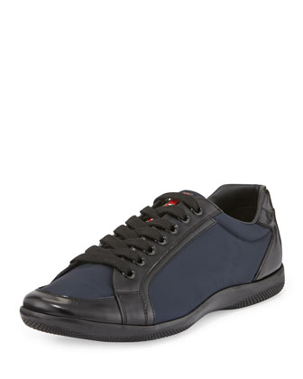 Offshore Nylon Sneaker, Blue