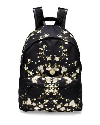 Baby's Breath Printed Backpack
