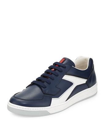 Low-Top Sneaker, Navy