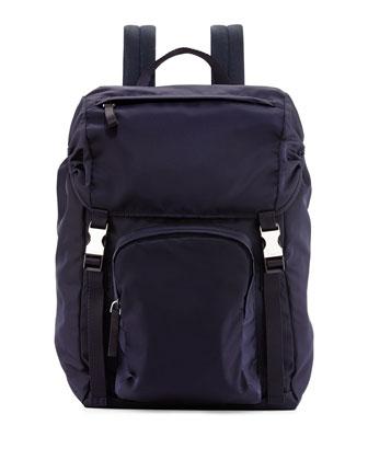 Tessuto Backpack, Navy