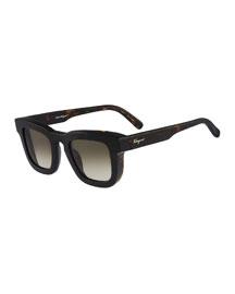 Runway Plastic Sunglasses, Tortoise