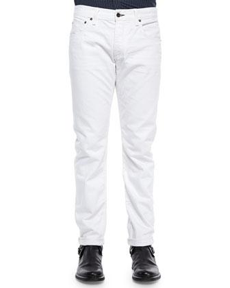 White Selvedge Denim Jeans