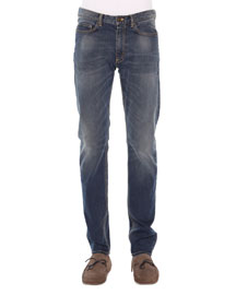 5-Pocket Stretch-Denim Jeans