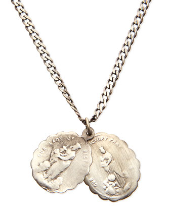 Saints Sterling Silver Necklace