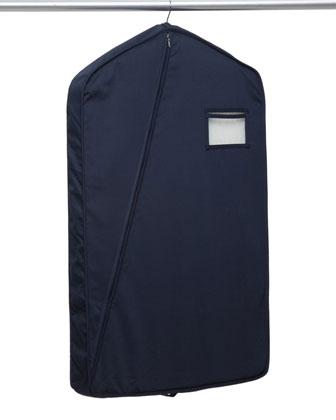 Short Luxury Garment Bag, Navy