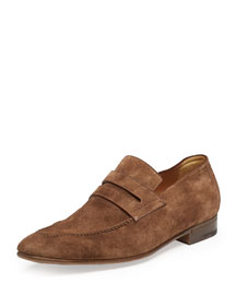 Andy Suede Loafer, Brown