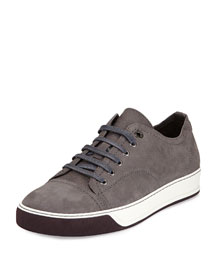 Colorblock Skater Sneaker, Gray