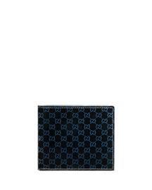 Micro GG Patent Leather Bi-Fold Wallet