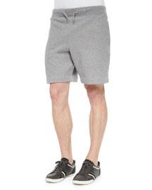 Afador Drawstring Sweat Shorts, Gray