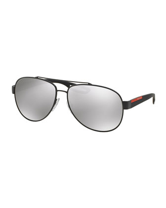Aviator Sunglasses, Gray
