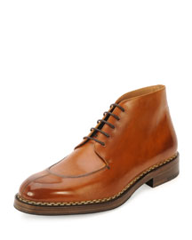 Montauk Leather Welt Boot, Light Brown