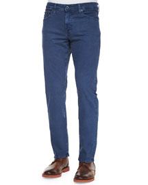 Graduate Sulfur Wash Jeans, Blue