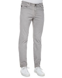 Graduate Sulfur Wash Jeans, Light Gray