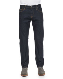 Graduate Jack Dark Wash Denim Jeans, Indigo
