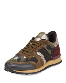 Rockrunner Camo-Print Trainer Sneaker, Multi