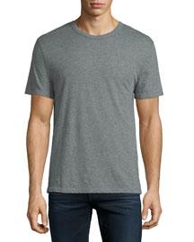 Classic Short-Sleeve Crewneck T-Shirt, Gray