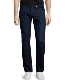 Tyler Abraham Dark Wash Jeans, Indigo