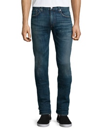 Core Slim Straight Morrison Jeans, Indigo