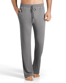 Theophile Solid Lounge Pants, Gray