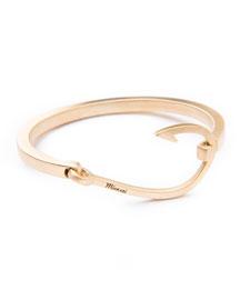 Hook Cuff Bracelet, Brass