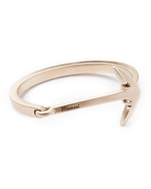 Anchored Cuff Bracelet, Brass