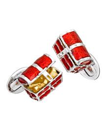 Treasure Chest Cuff Links