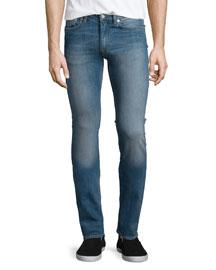 Ace Carter Skinny Denim Jeans, Light Blue