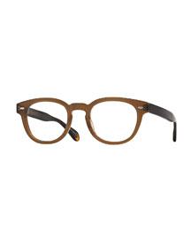 Sheldrake 47 Matte Optical Glasses, Taupe