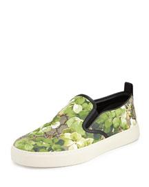 Blooms Print Slip-On Sneaker, Multi